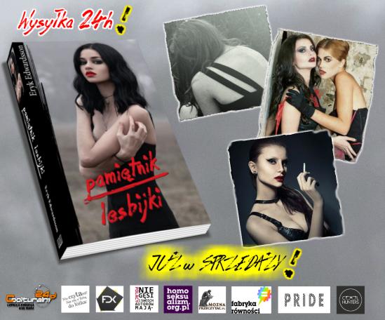 Pamiętnik lesbijki Edwardsson Eryk - literatura lesbijska, lgbt, homoseksualna, kobieca, lesbijka i homoseksualizm, pamiętnik z depresji.