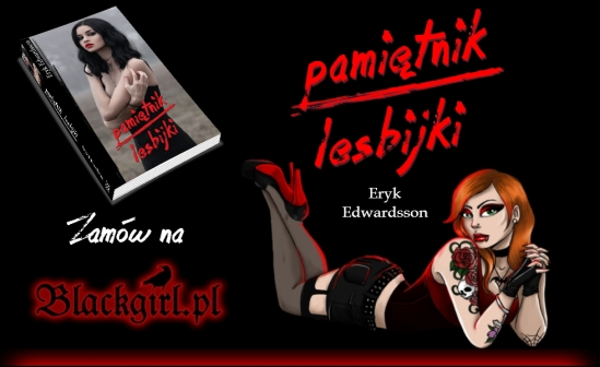 Książka Pamiętnik lesbijki Eryka Edwardssona w sklepie BlackGirl.pl