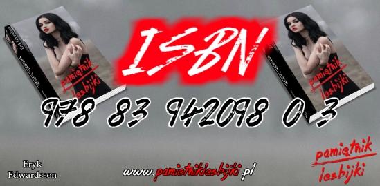 Numer ISBN Pamiętnika Lesbijki Eryka Edwardssona
